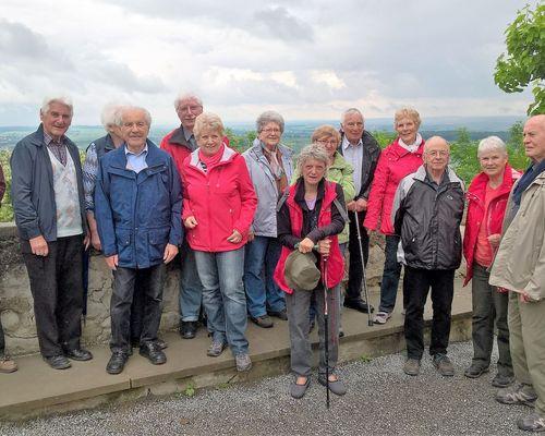 Die Seniorensportgruppe wandert im Mai